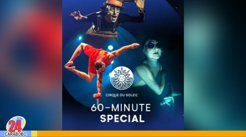 espectáculos online de Cirque du Soleil