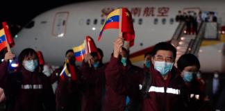 Expertos chinos llegan a Venezuela
