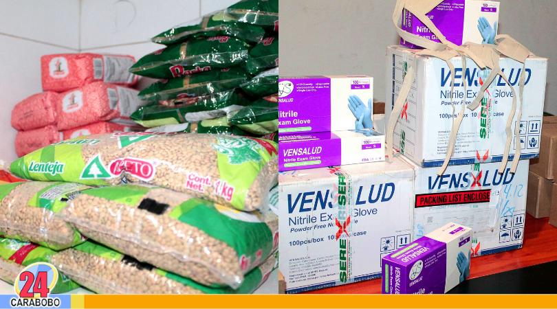 Entregan kits de prevención contra el coronavirus en Carabobo