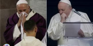 prueba de coronavirus al papa Francisco