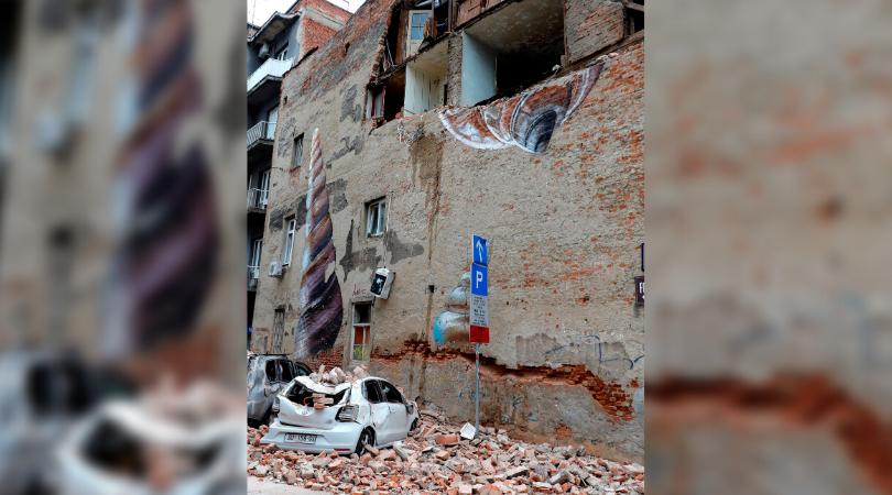 sismos en Croacia