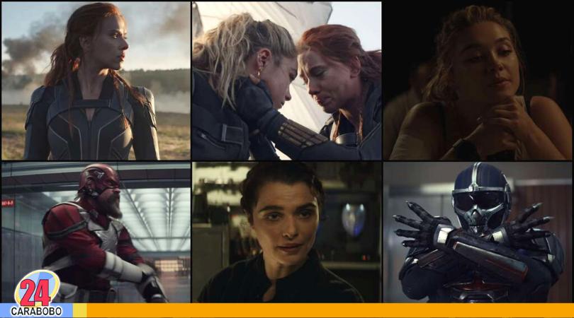 tráiler final de Black Widow