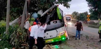 Accidente de autobús