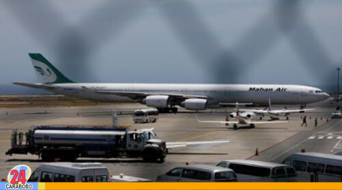 Avión de Mahan Air