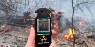 Incendio en Chernóbil