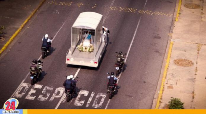 La Divina Pastora recorrió Barquisimeto