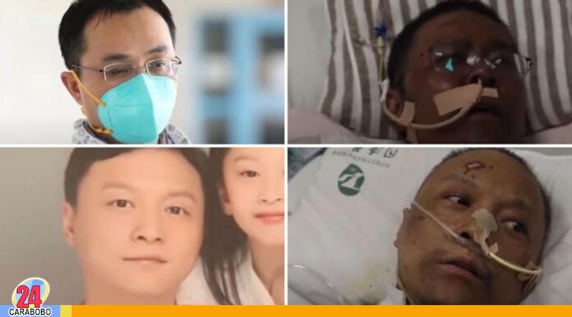 Médicos chinos contagiados con COVID-19 (1)
