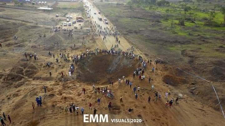 meteorito en Nigeria