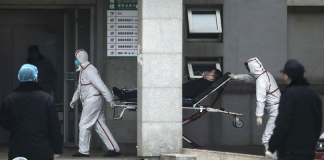 Muertos por coronavirus en Wuhan