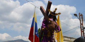 Imagen del Nazareno recorrió Naguanagua