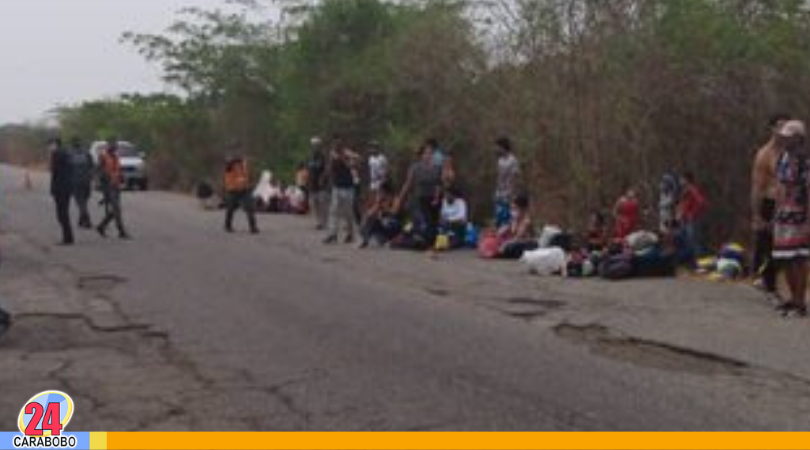 Volcamiento de autobús en Zulia