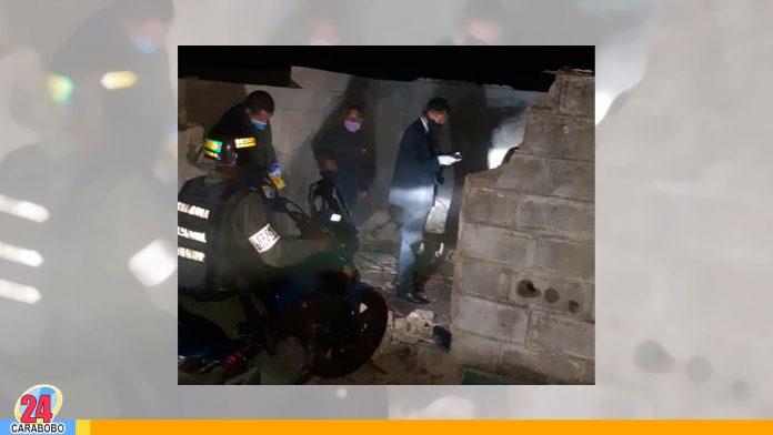 cadáveres maniatados en Santa Inés - cadáveres maniatados en Santa inés