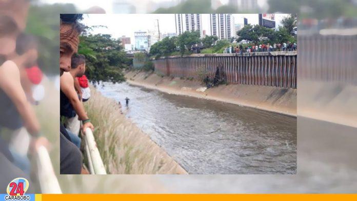 apareció en el Río Guaire - apareció en el Río Guaire