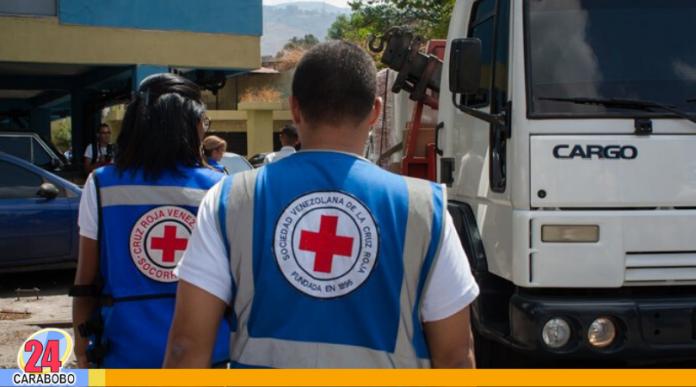 ayuda humanitaria de la Cruz Roja