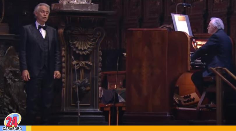 concierto de Pascua de Andrea Bocelli