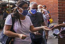 casos de COVID-19 en Venezuela