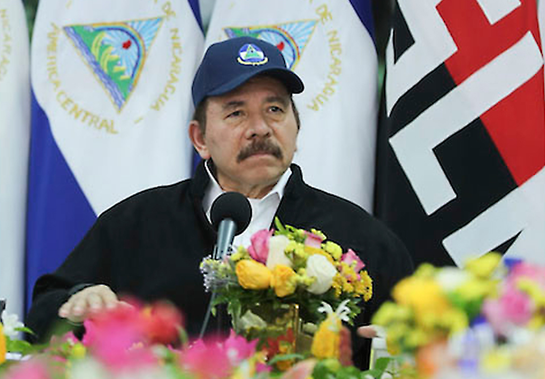 Reapareció Daniel Ortega - Reapareció Daniel Ortega