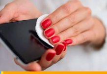 Desinfectar dispositivo móvil-Noticias24carabobo
