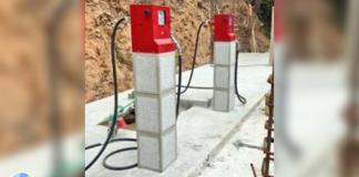 gasolina en depósito clandestino en Los Naranjos