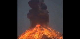 Volcán de Krakatoa - Volcán de Krakatoa