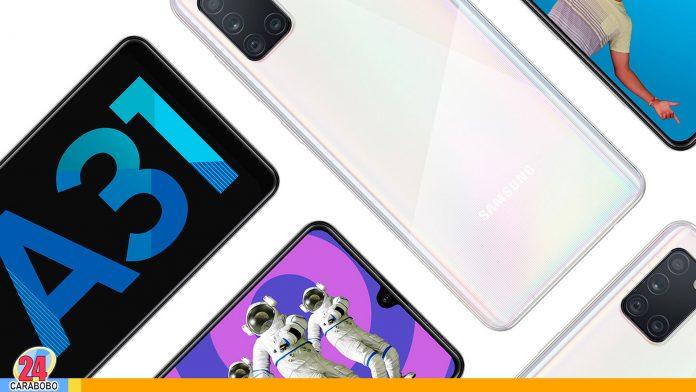 Samsun Galaxy A31-Noticias24carabobo