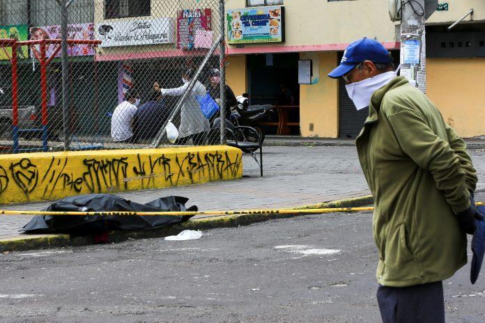 Casos de coronavirus en Ecuador