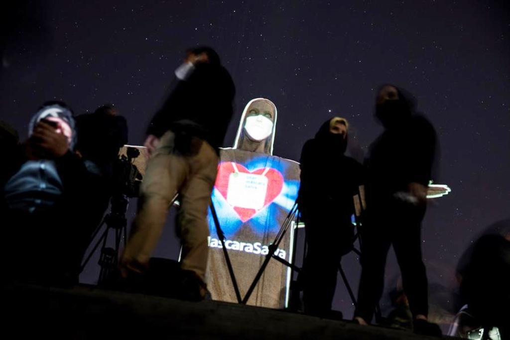 Cristo Redentor con tapabocas - noticias24 Carabobo