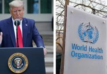 Estados Unidos corta relaciones con la OMS