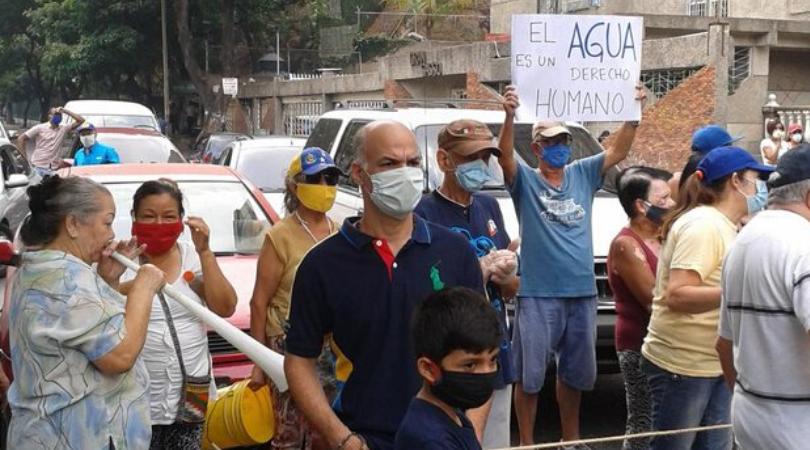 fallas eléctricas en varias zonas de Caracas