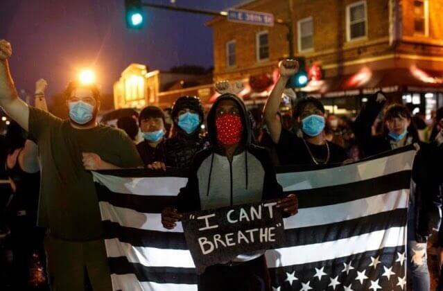 Disturbios en Minneapolis