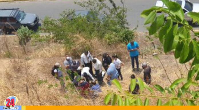 rapto de bebe en Guarenas