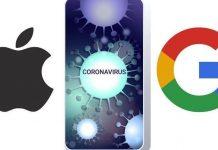 Rastreo del COVID-19 de Apple y Google