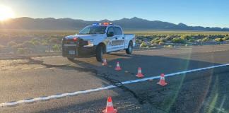 Sismo en Nevada