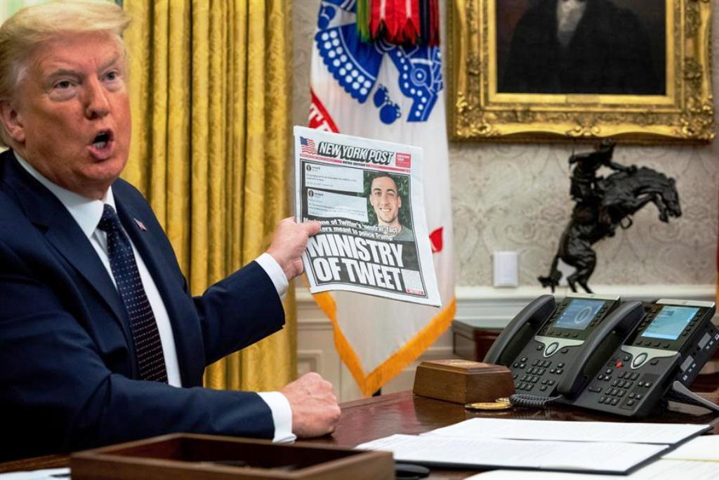 Trump amenaza cerrar redes sociales - noticias24 Carabobo