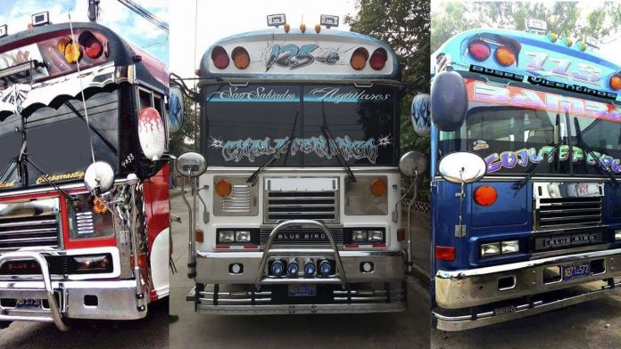 Autobuses de El Salvador - Autobuses de El Salvador