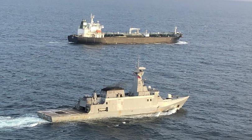 buque iraní llegó a Venezuela
