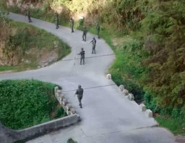 Mercenarios en La Colina Tovar - Mercenarios en La Colina Tovar