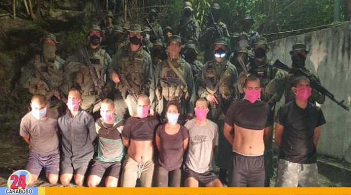 detenidos en Petaquirito