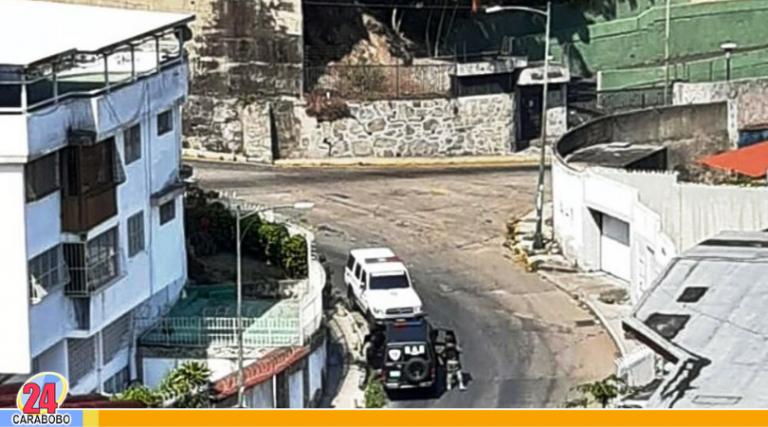Se registró enfrentamiento entre CICPC y grupo armado en la Cota 905