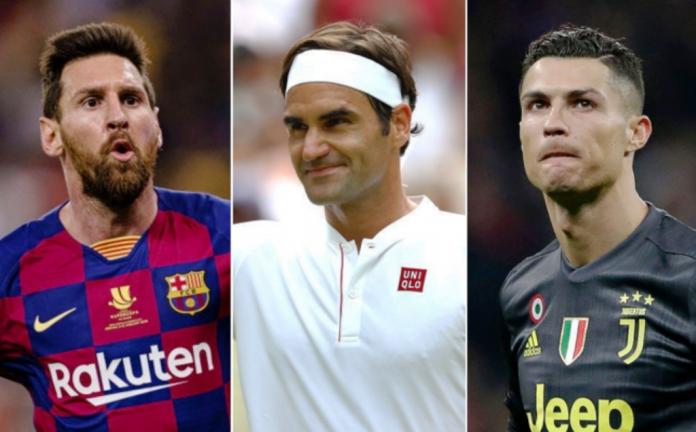 Federer supera a Cristiano Ronaldo . noticias24 Carabobo