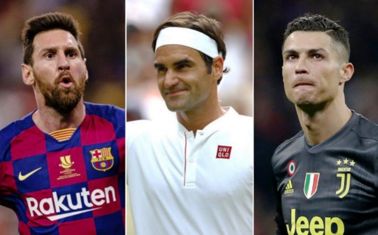 ¡Forbes! Roger Federer lidera por primera vez lista de deportistas con mayores ingresos