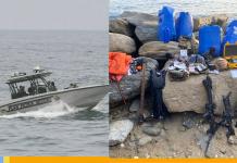 invasión marítima en Vargas