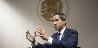 Diputado opositor Juan Guaidó - Diputado opositor Juan Guaidó