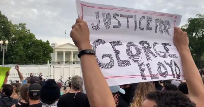 Protestas en La Casa Blanca - Protestas en La Casa Blanca
