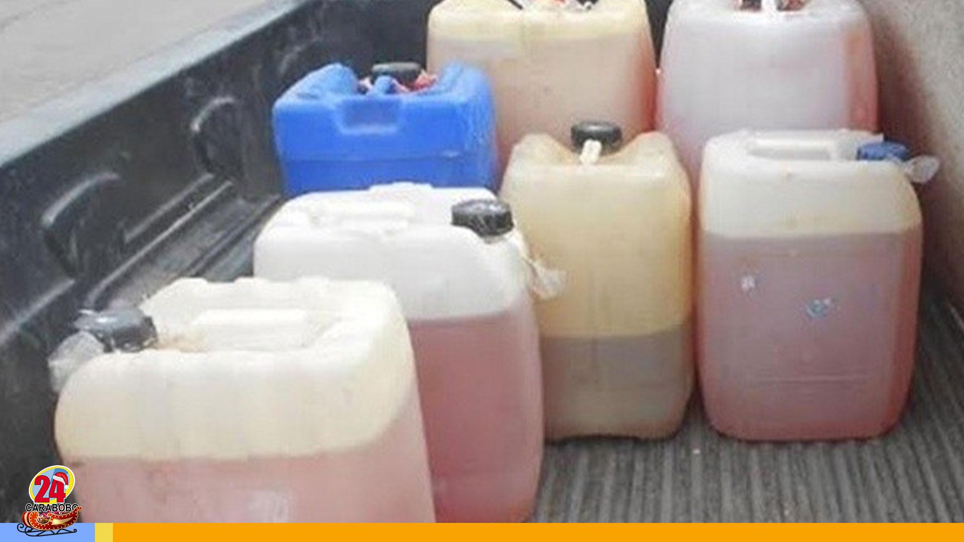 Robo de gasolina en Carabobo - Robo de gasolina en Carabobo
