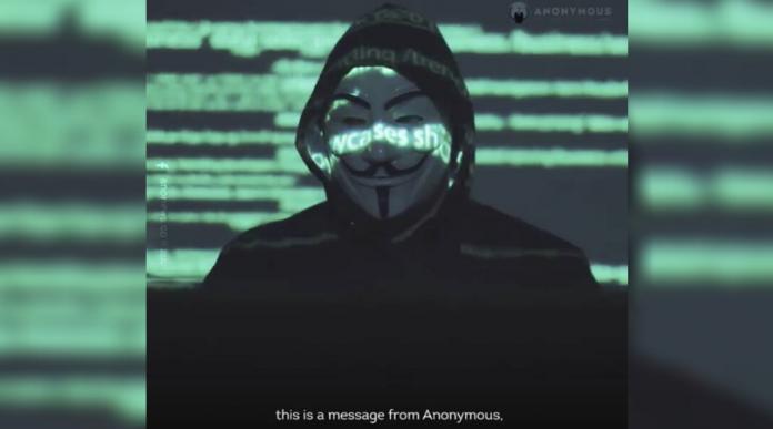 vídeo de Anonymous