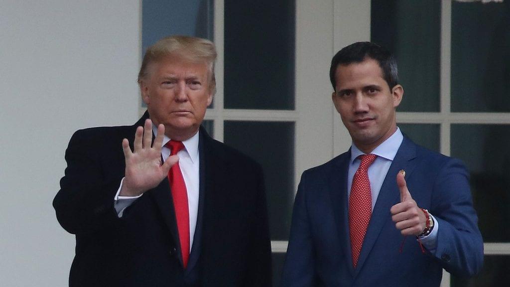 Reunión de Trump y Maduro