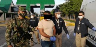 Detenido en Colombia militar venezolano
