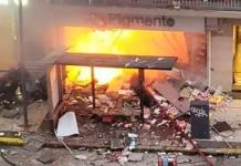 Incendio en Buenos Aires