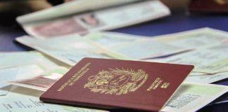 Nuevos precios de pasaporte